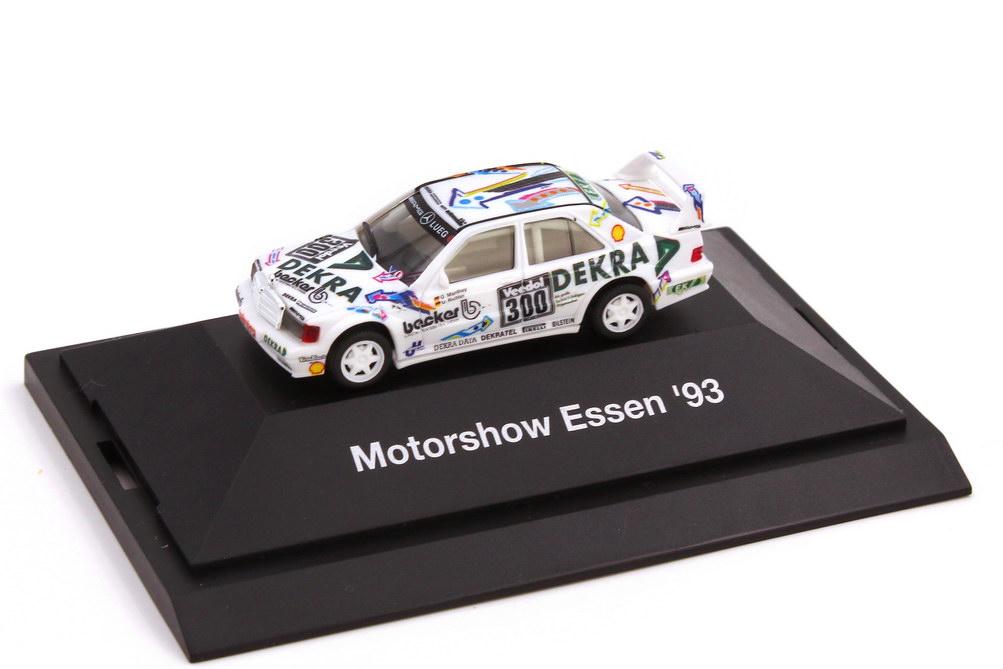 Foto 1:87 Mercedes-Benz 190E Evo II VLN 1993 Dekra Nr.300 Manthey Richter - Motorshow Essen 93 - herpa