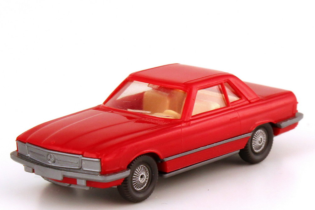 Foto 1:87 Mercedes-Benz 350SL (R107) rot Wiking 140