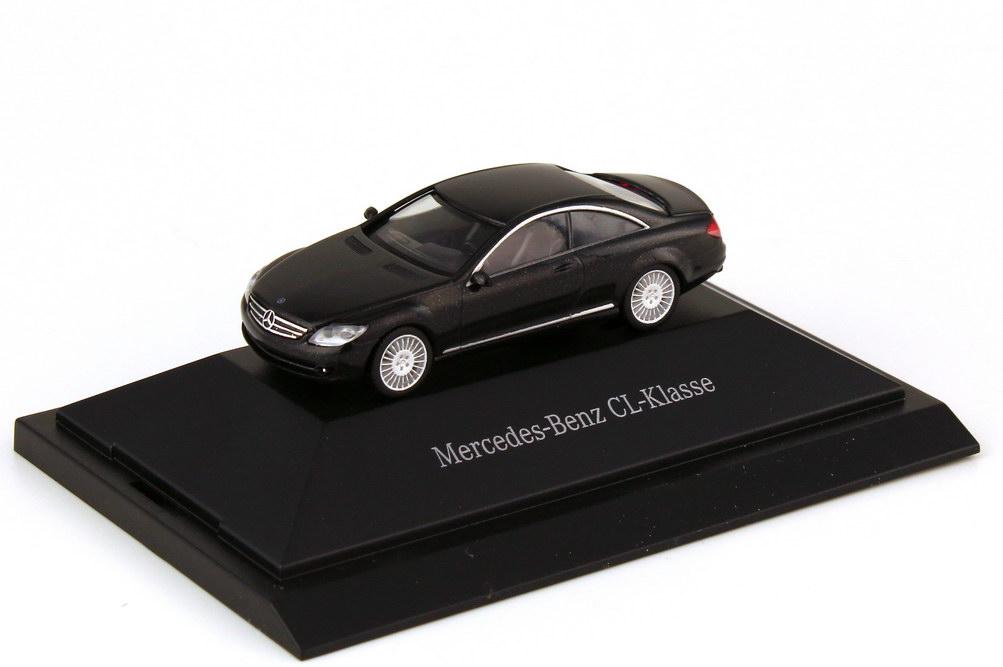 Foto 1:87 Mercedes-Benz CL Coupé C216 obsidianschwarzmet. - Werbemodell - herpa B66961382