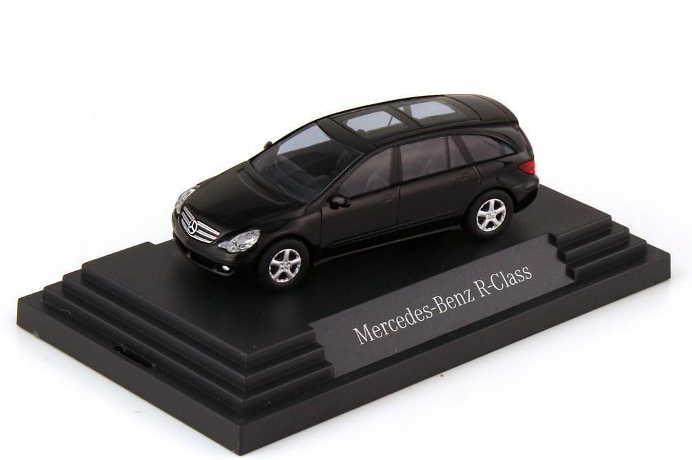 Foto 1:87 Mercedes-Benz R-Klasse W251 obsidianschwarz-met. - Werbemodell - Busch B66961371