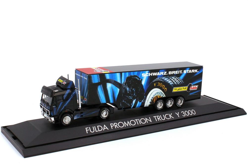 Foto 1:87 Mercedes-Benz SK 88 Koffer-Szg Fulda Promotion Truck Y 3000 - herpa 166483
