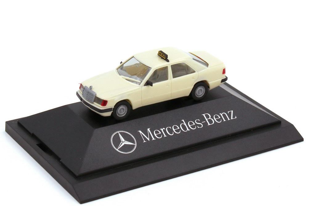 Foto 1:87 Mercedes-Benz E-Klasse 300E W124 MOPF Taxi - Werbemodell - herpa