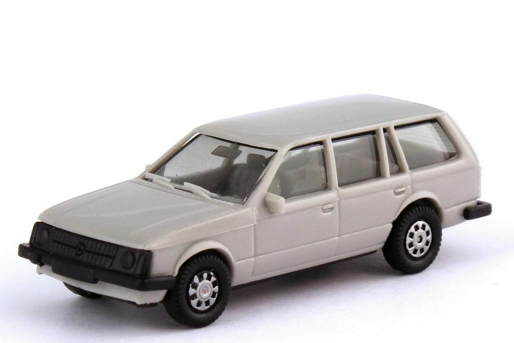 Foto 1:87 Opel Kadett D Caravan grau - IA grau - herpa 2030