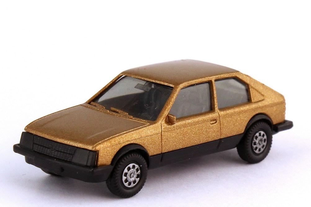 Foto 1:87 Opel Kadett D SR 2türig gold-met. - herpa 3024