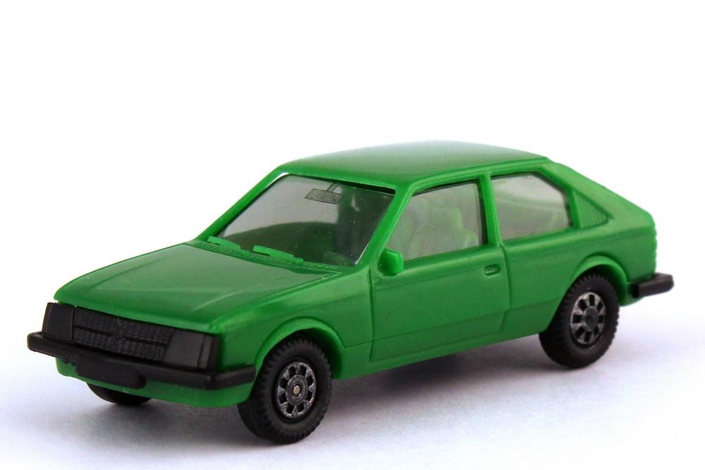 Foto 1:87 Opel Kadett D 2türig grün - herpa 2031