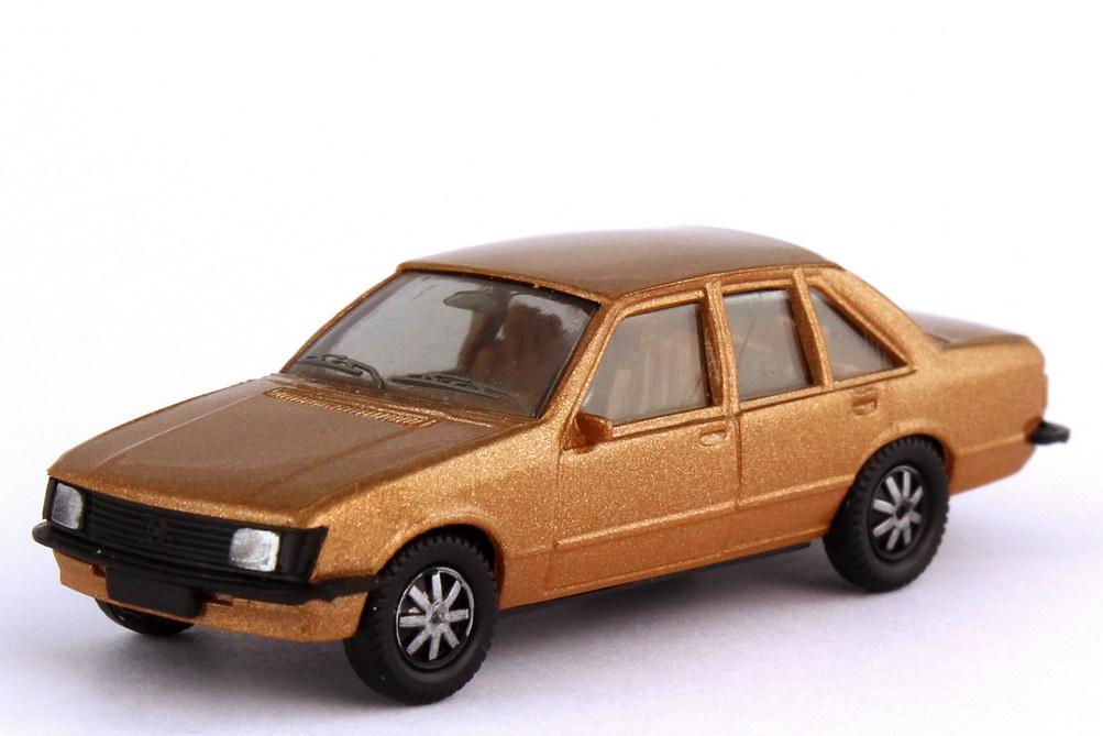 Foto 1:87 Opel Rekord E goldbeige-met. - herpa 3007