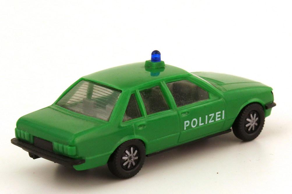Foto 1:87 Opel Rekord E Polizei grün IA grau - herpa 4040