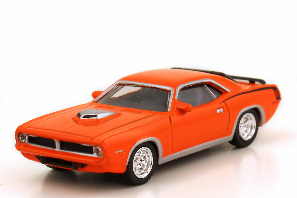 Foto 1:87 Plymouth Hemi Barracuda 1970 orange Model Power 19452
