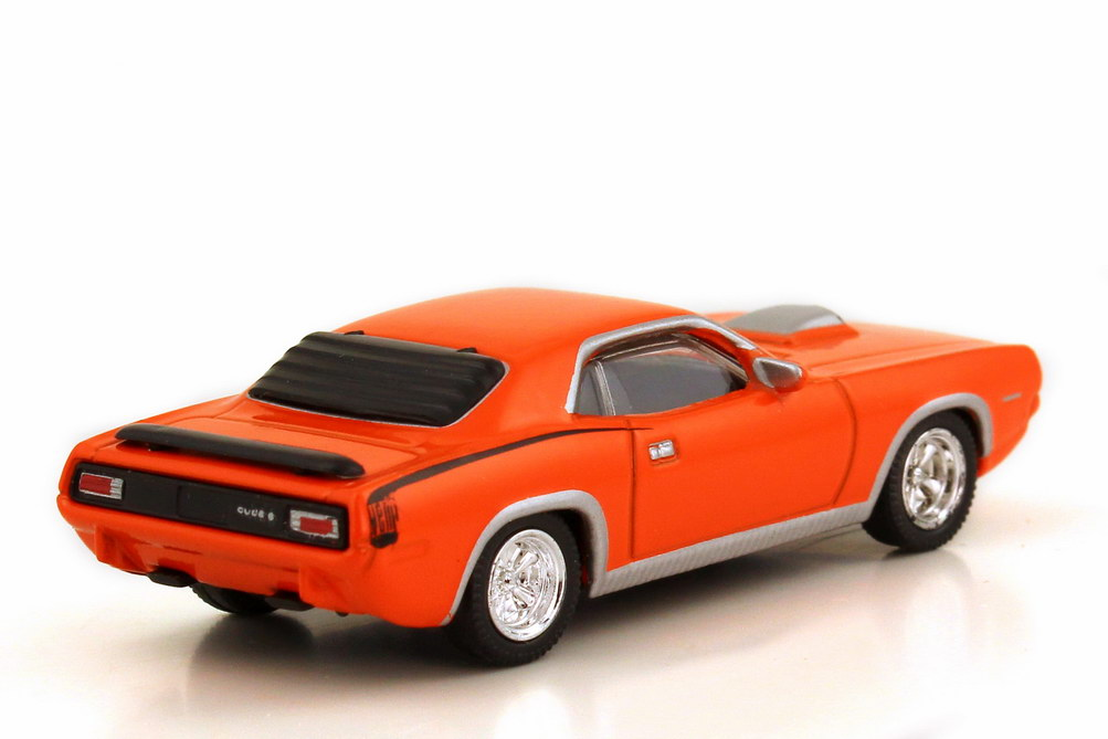 Foto 1:87 Plymouth Hemi Barracuda 1970 orange Model Power 19452