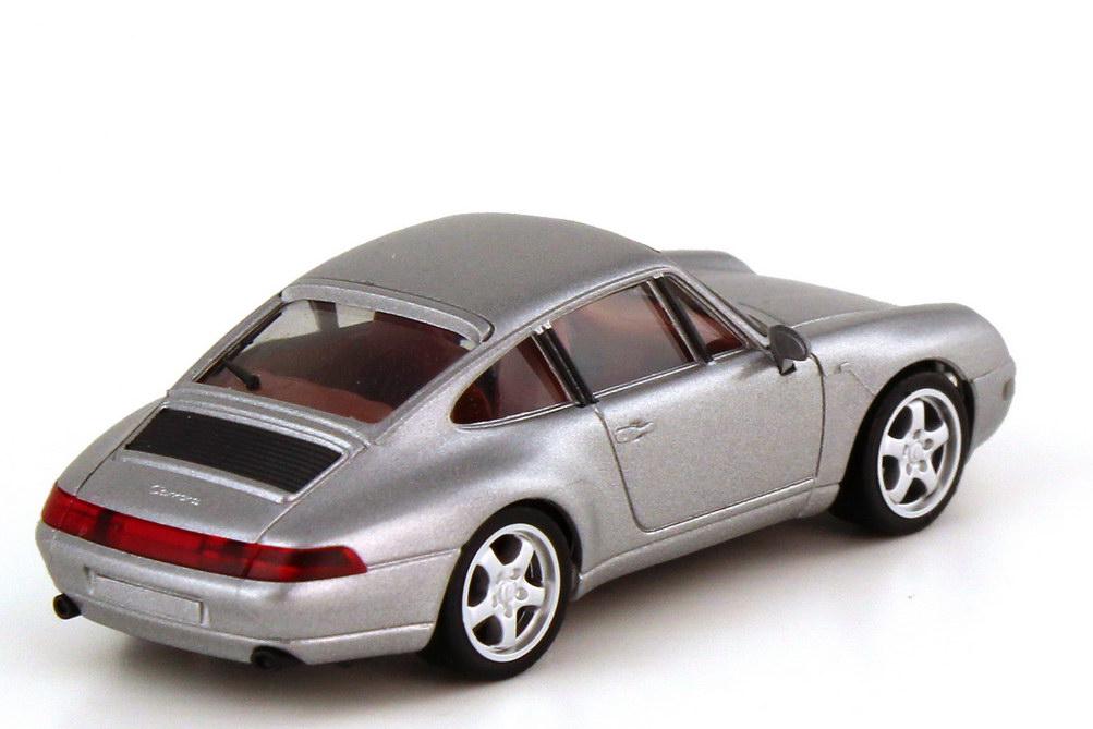 Foto 1:87 Porsche 911 Carrera 993 silber-met. - herpa 032162 - Aus Set 229036