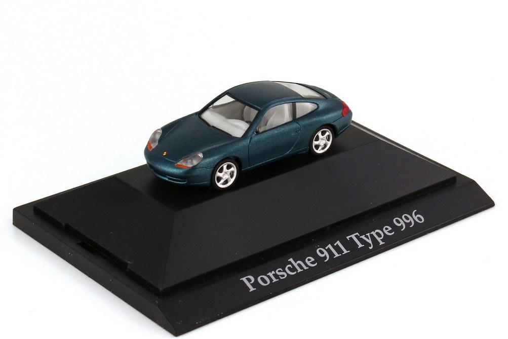 Foto 1:87 Porsche 911 Carrera 996 libelltürkis-met. - herpa 101110