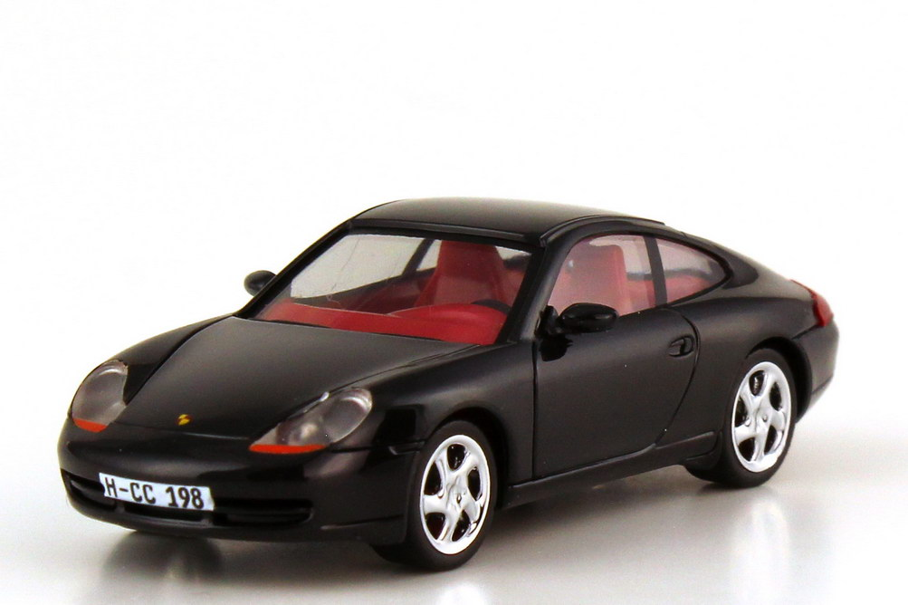 Foto 1:87 Porsche 911 Carrera 996 schwarz - Collectors Club HCC 1998 - herpa 194150