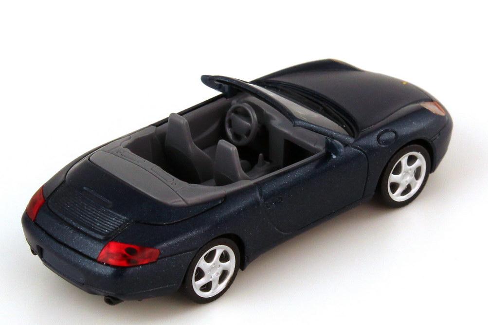 Foto 1:87 Porsche 911 Carrera Cabriolet 996 vesuvio-met. - Werbemodell - herpa WAP02202197