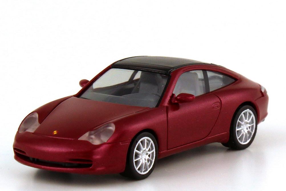 Foto 1:87 Porsche 911 targa 996 orientrot-met. - Werbemodell - herpa WAP02203510