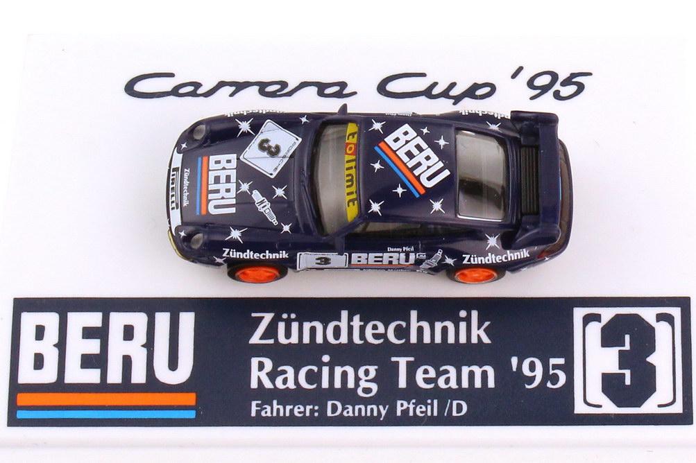 Foto 1:87 Porsche 911 RS Clubsport 993 PCC 1995 Beru Zündtechnik Nr.3 Danny Pfeil - euromodell