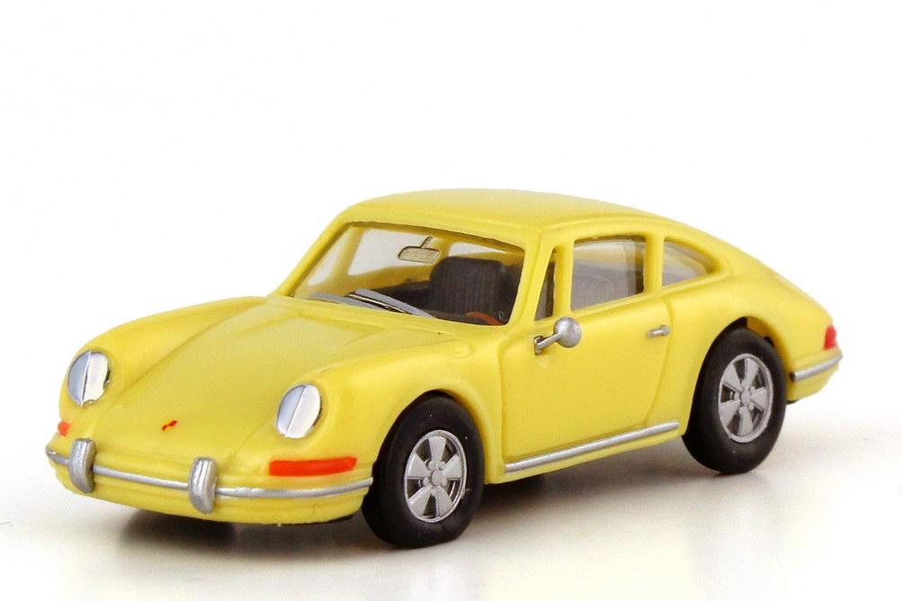 Foto 1:87 Porsche 911 Urmodell hellgelb - Werbemodell - herpa WAP02201897