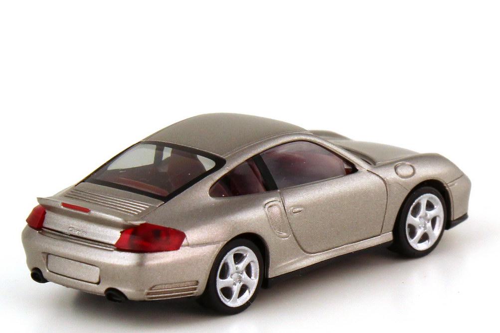 Foto 1:87 Porsche 911 turbo 996 paladio-mirage-met. - herpa 101318