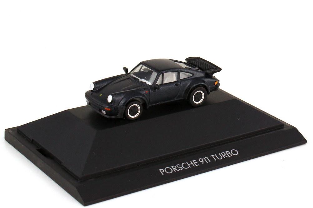 Foto 1:87 Porsche 911 turbo Typ 930 nachtblau-met. - Private Collection - herpa 31060
