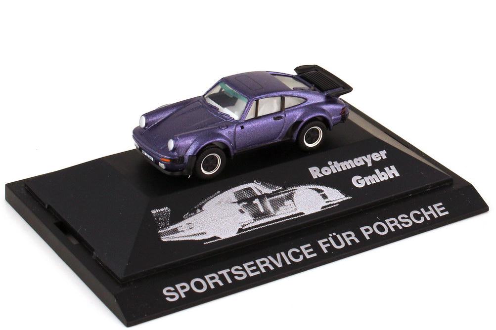 Foto 1:87 Porsche 911 turbo Typ 930 veilchenblau-met. - Roitmayer GmbH - herpa