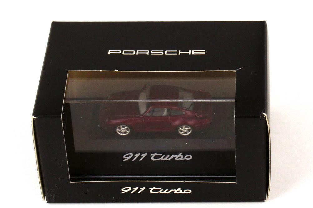 Foto 1:87 Porsche 911 turbo 993 arenarot-met. - Werbemodell - herpa WAP022001