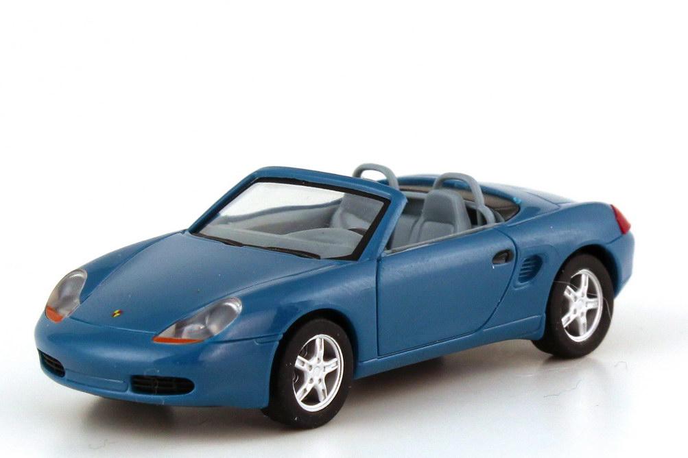 Foto 1:87 Porsche Boxster 986 blautürkis - herpa Private Collection 101073