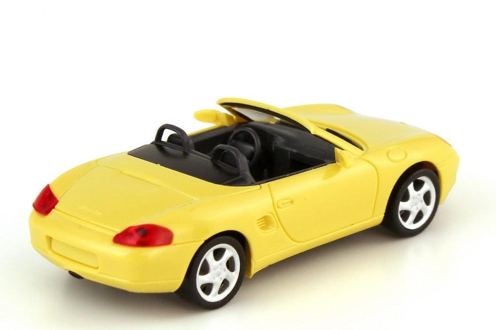 Foto 1:87 Porsche Boxster 986 pastellgelb - Werbemodell - herpa WAP022008