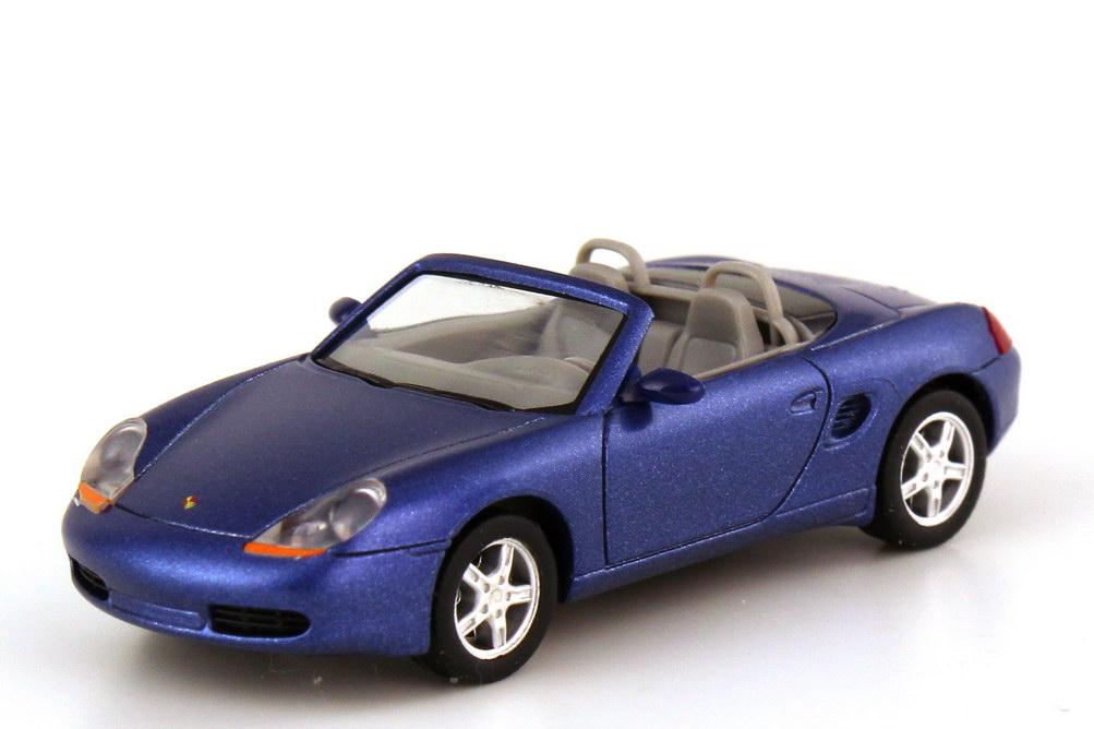 Foto 1:87 Porsche Boxster 986 zenitblau-met. - Werbemodell - herpa WAP022009