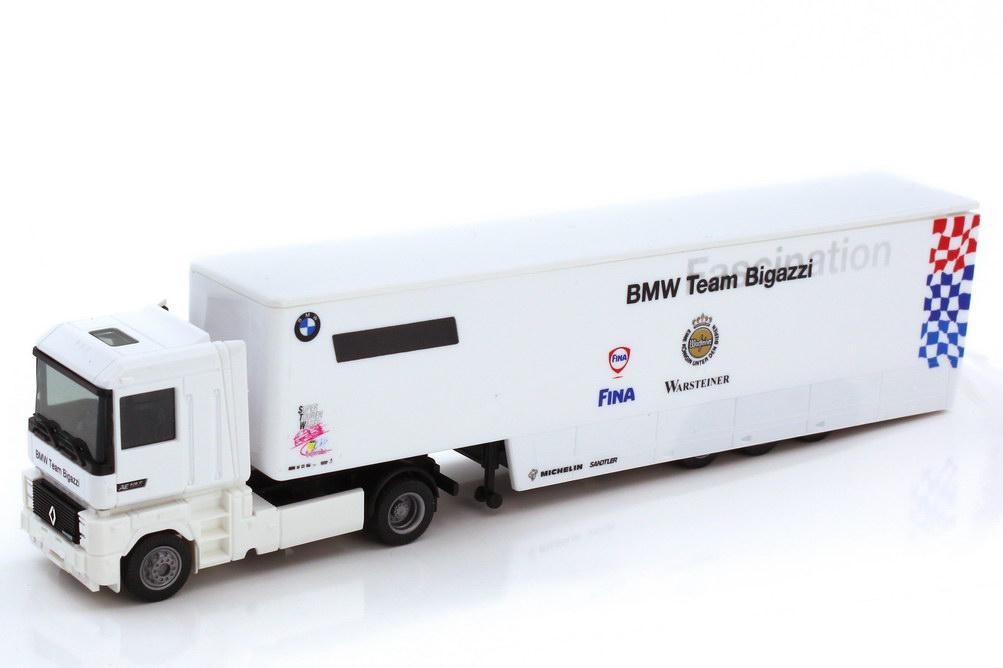 Foto 1:87 Renault AE 500 Magnum Renntransporter-Szg STW Cup - BMW Team Bigazzi - Albedo 222029
