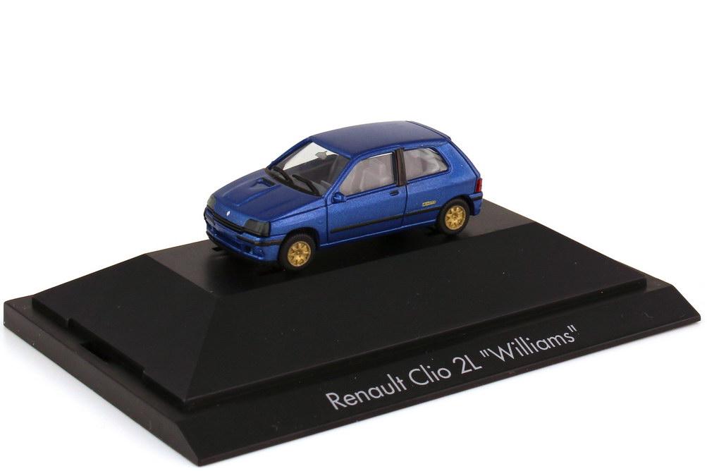 Foto 1:87 Renault Clio 16V 2L blau-met. - Williams - herpa 100588