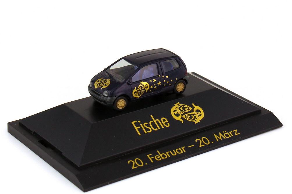 Foto 1:87 Renault Twingo Sternzeichen Fische - Astro Collection - herpa 100892