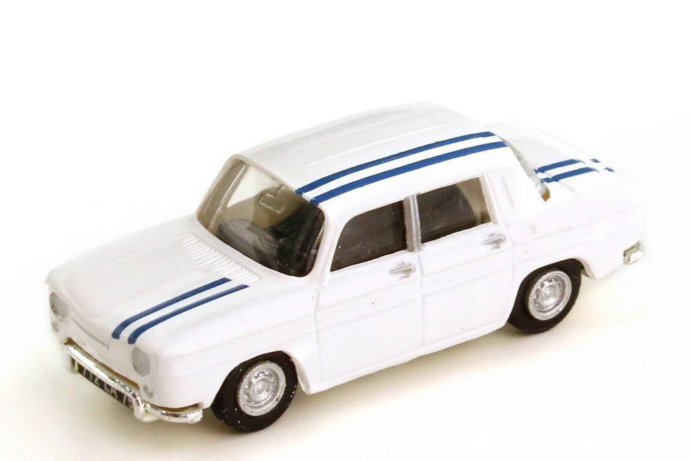 Foto 1:87 Simca 1000 weiß mit blauen Racing-Streifen - Norev 571081