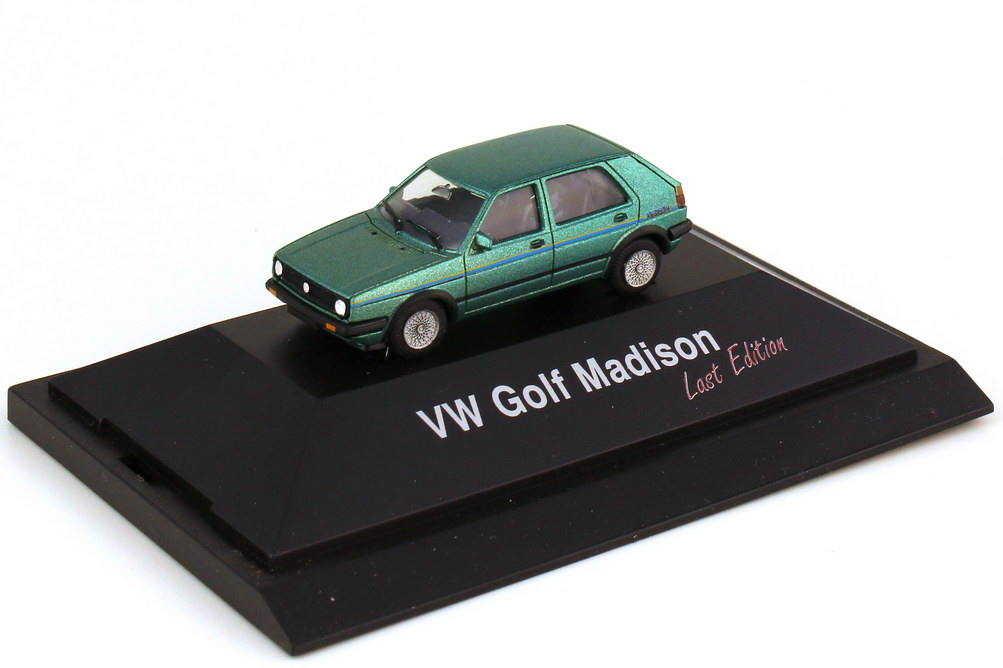 Foto 1:87 VW Golf II 4türig Madison - Last Edition - herpa 180504
