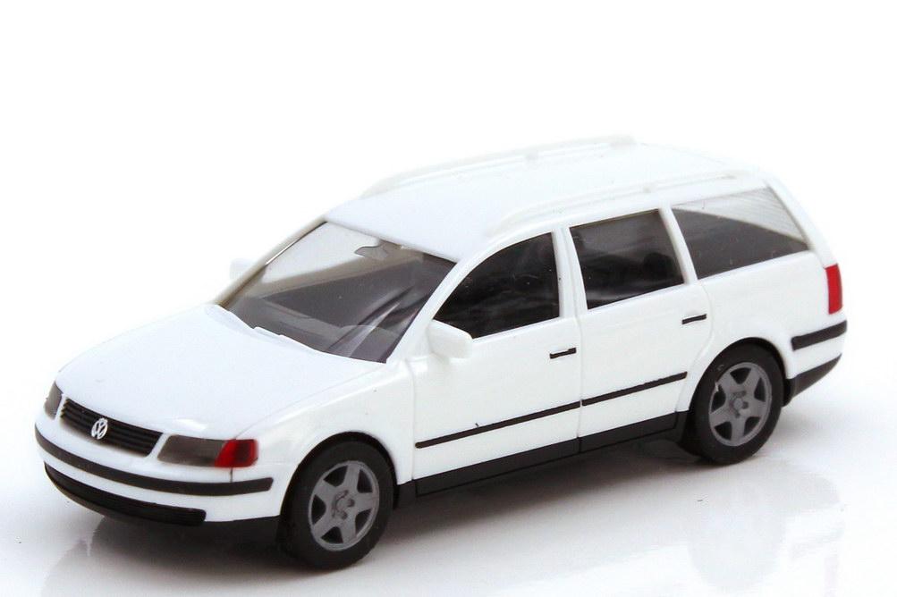 Foto 1:87 VW Passat Variant Typ B5 weiß - herpa 022224