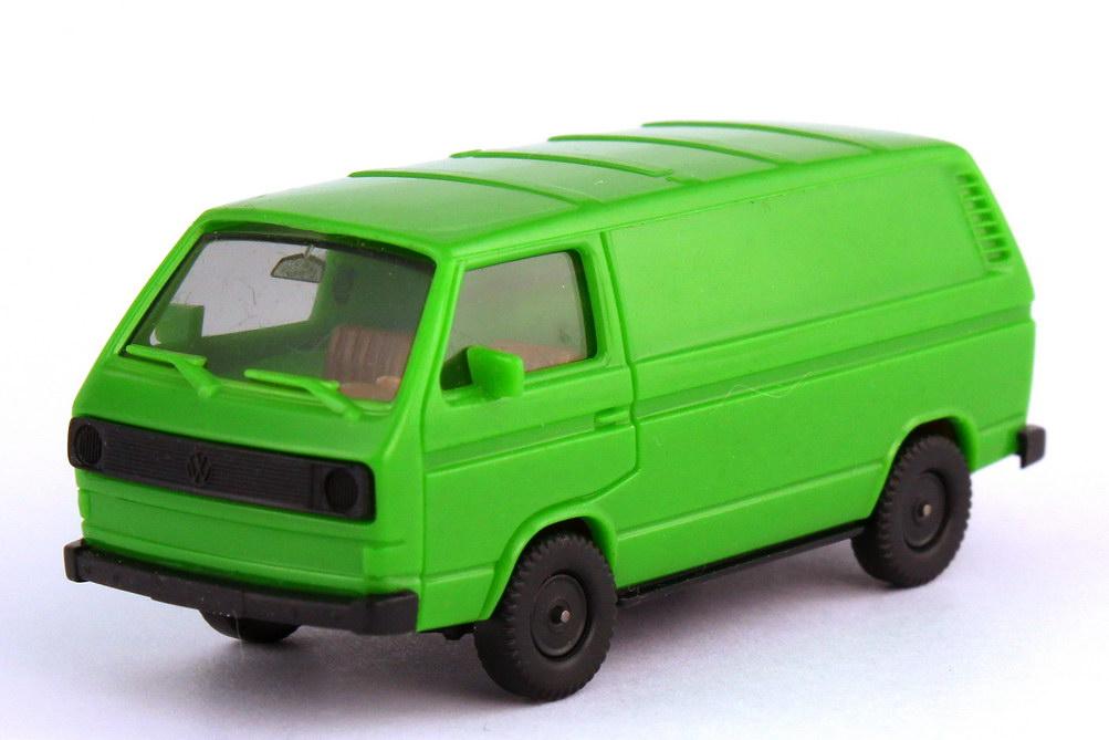 Foto 1:87 VW T3 Kasten froschgrün - herpa 4032