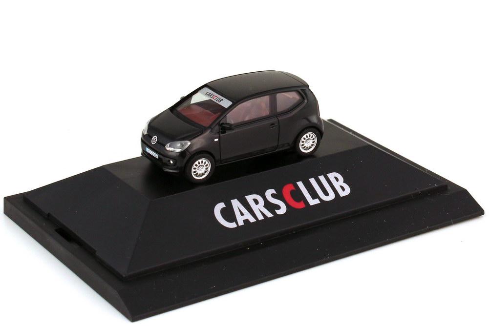 Foto 1:87 VW Up! 2-türig schwarz - HCC 2012 Herpa Cars Club - herpa 192989