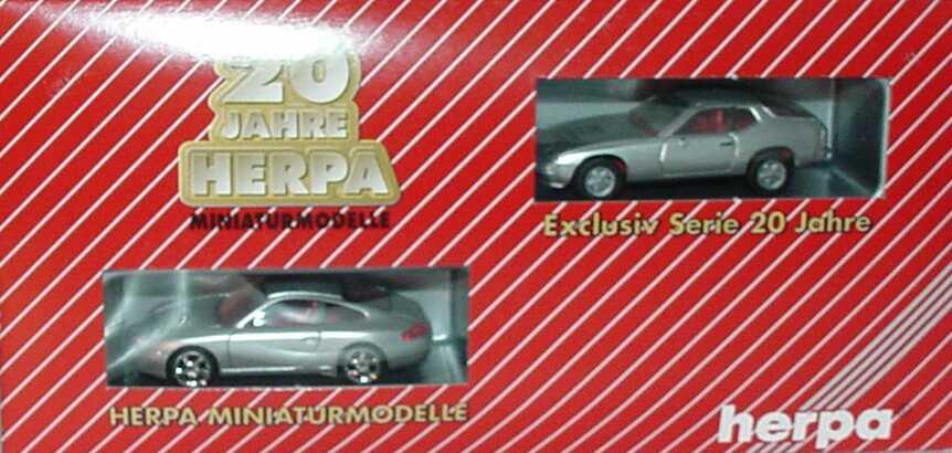 Foto 1:87 20 Jahre Herpa Setpackung Porsche (Porsche 924 + Porsche 996) herpa 187527