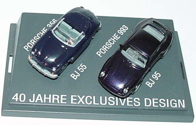Foto 1:87 40 Jahre exclusives Design (Porsche 356 Cabrio + Porsche 993) euromodell