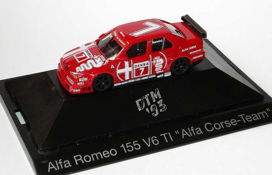 Foto 1:87 Alfa Romeo 155 V6 TI DTM 1993 Alfa Corse Nr.7, Nannini herpa 036030