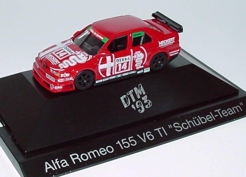 Foto 1:87 Alfa Romeo 155 V6 TI DTM 1993 Schübel-Team Nr.14, Danner herpa 036047
