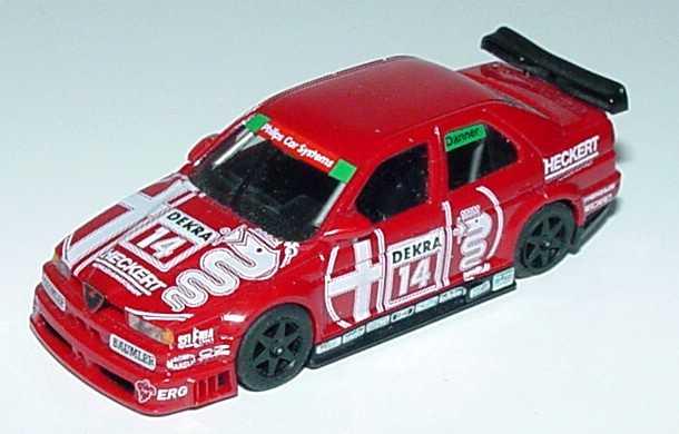 Foto 1:87 Alfa Romeo 155 V6 TI DTM 1993 Schübel-Team Nr.14, Danner (ohne PC-Box) herpa