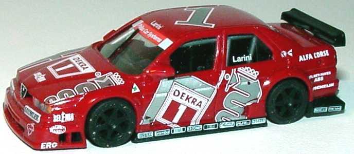 Foto 1:87 Alfa Romeo 155 V6 TI DTM 1994 Alfa Corse Nr.1, Larini(ohne PC-Box) herpa 036139