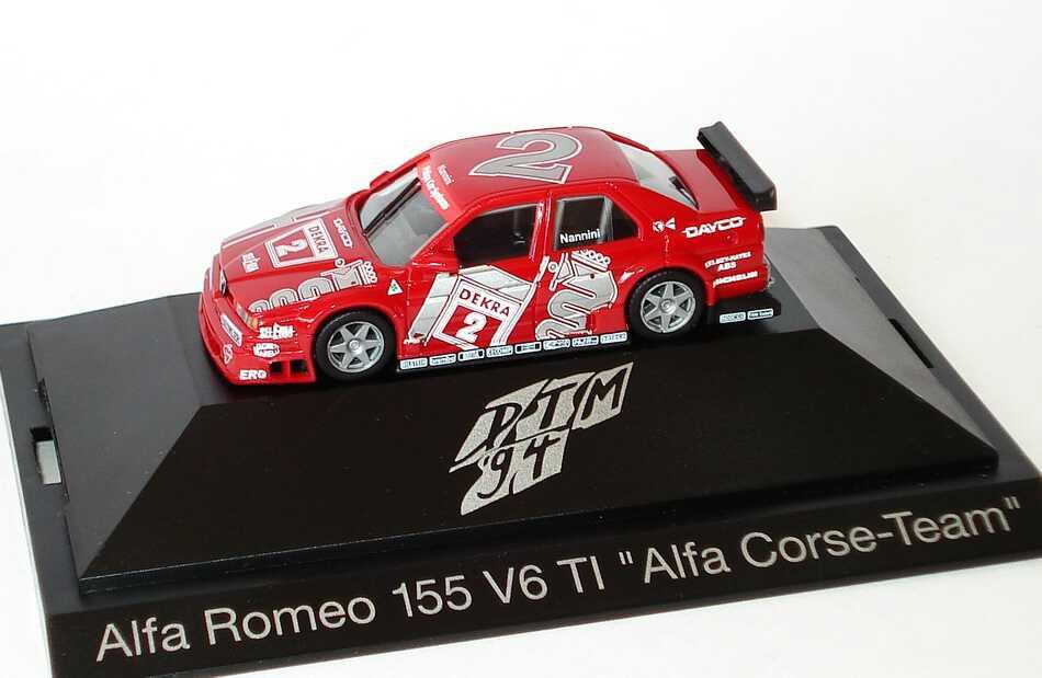 Foto 1:87 Alfa Romeo 155 V6 TI DTM 1994 Alfa Corse Nr.2, Nannini herpa 036122
