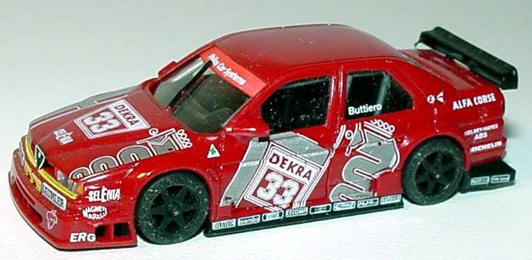 Foto 1:87 Alfa Romeo 155 V6 TI DTM 1994 Alfa Corse Nr.33, Buttiero(ohne PC-Box) herpa 036115