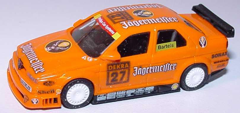 Foto 1:87 Alfa Romeo 155 V6 TI DTM 1994 Schübel, Jägermeister Nr.27, Bartels(ohne PC-Box) herpa 036054