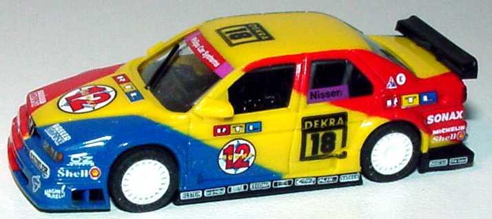 Foto 1:87 Alfa Romeo 155 V6 TI DTM 1994 Schübel, RTL Nr.18, Nissen(ohne PC-Box) herpa 036085