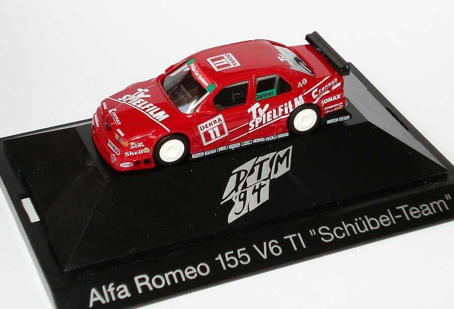 Foto 1:87 Alfa Romeo 155 V6 TI DTM 1994 Schübel, TV Spielfilm Nr.11, Danner herpa 036108