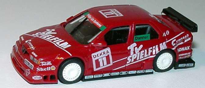 Foto 1:87 Alfa Romeo 155 V6 TI DTM 1994 Schübel, TV Spielfilm Nr.11, Danner(ohne PC-Box) herpa 036108