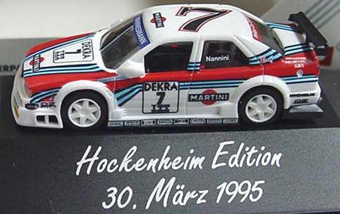 Foto 1:87 Alfa Romeo 155 V6 TI DTM 1995 Martini Nr.7, Nannini (Hockenheim Edition 1995) herpa 036351