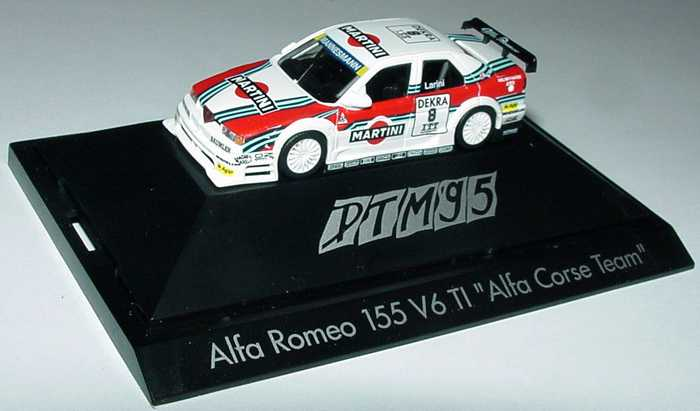 Foto 1:87 Alfa Romeo 155 V6 TI DTM 1995 Martini Nr.8, Larini herpa 036467