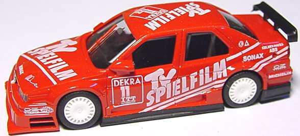 Foto 1:87 Alfa Romeo 155 V6 TI DTM 1995 Schübel, TV Spielfilm Nr.11, Danner (ohne Fenster- und Bodendruck, ohne PC-Box) herpa